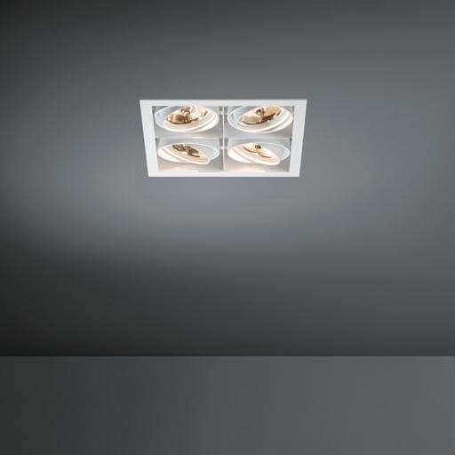 Modular Lighting Mini Multiple 4x AR70 MO 10370429 White structured / Black