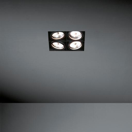 Modular Lighting Mini Multiple MO 10380429 White structured / Black