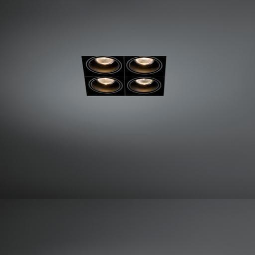 Modular Lighting Mini Multiple MO 10381929 White structured / Black
