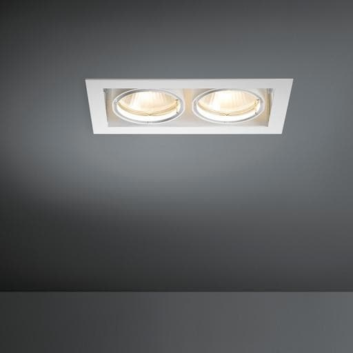 Modular Lighting Multiple 2x CDM-T MO 10352705 Aluminium / Black
