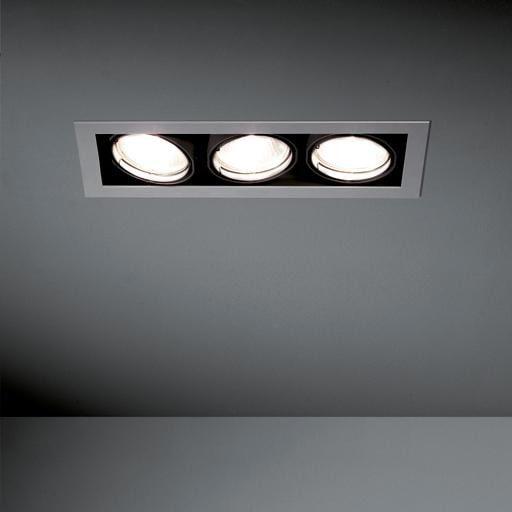 Modular Lighting Multiple 3x CDM-T MO 10352829 White structured / Black