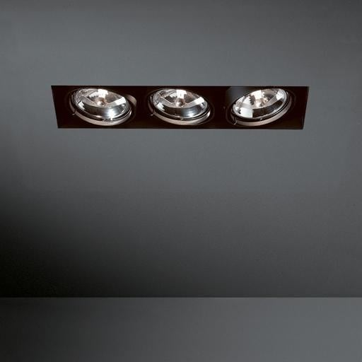 Modular Lighting Multiple Trimless 3x AR111 MO 10360329 White structured / Black