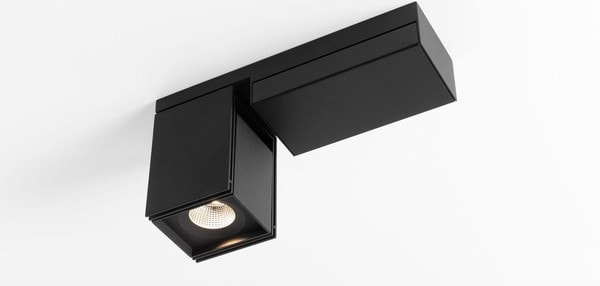 Modular Lighting Rektor LED Tre Dim GI MO 12826156 Black structured / Black structured