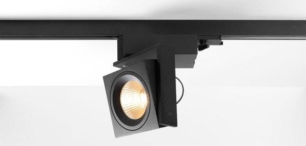 Modular Lighting Single Square Track LED GI MO 11402232 Black structured