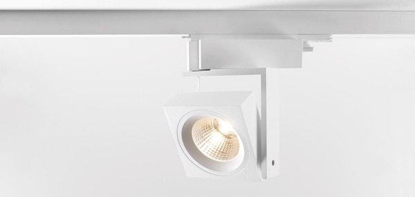 Modular Lighting Single Square Track LED GI MO 11402309 White structured