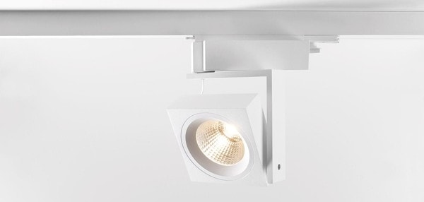 Modular Lighting Single Square Track LED GI MO 11402709 White structured