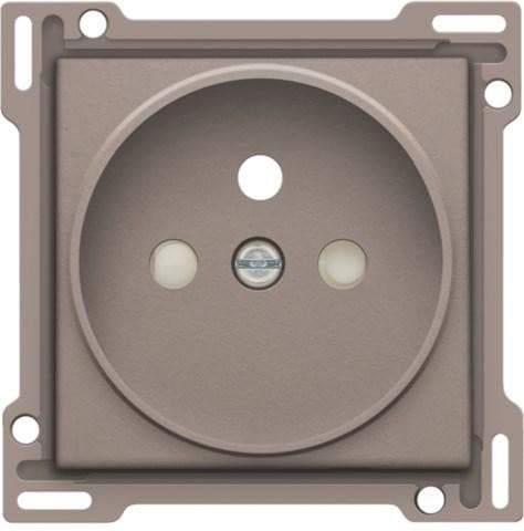 Niko Finishing set Socket Outlet with Pin Earthing 21mm 104-66101 Greige
