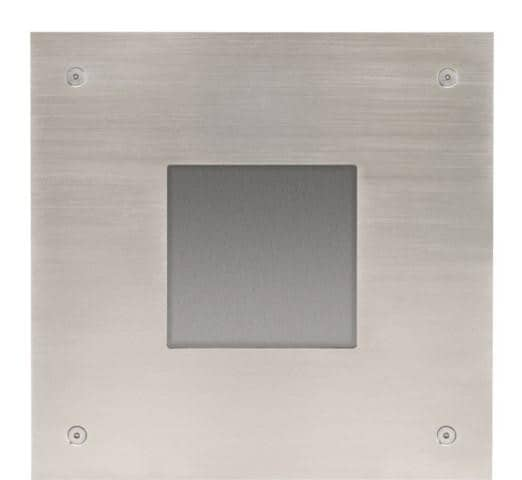 Niko Access Control Front Plate 10-351 Brushed stainless steel