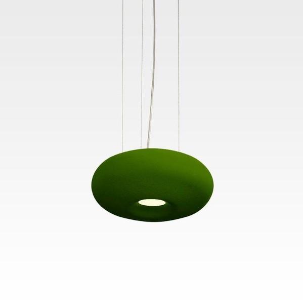 Orbit Donut 1x COB LED Dim 1-10V/PUSH OR 80302B824WW Green