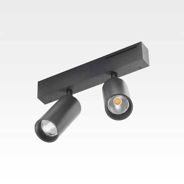 Orbit Easy Tubed Double 2x COB LED OR 98422C1024NW Black / Black