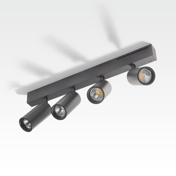 Orbit Easy Tubed Quatro 4x COB LED OR 98442B2524NW Black / Black