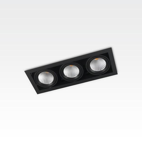 Orbit Piccolo Frame Triple 3x COB LED OR 95162C1230DW Black / Black