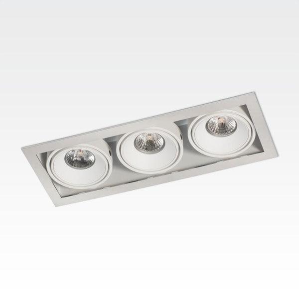 Orbit Piccolo Frame Triple 3x CONE COB LED OR 95165-1D824WW Chrome / White