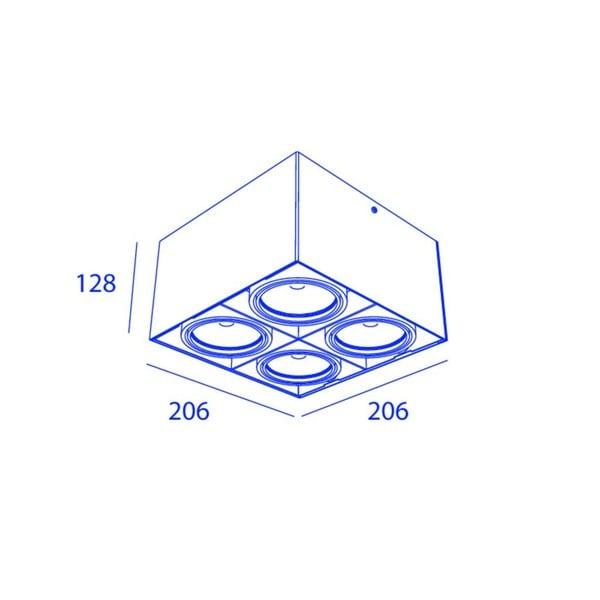 Orbit Piccolo Look Out 4x COB LED OR 965201C1230DW White / White