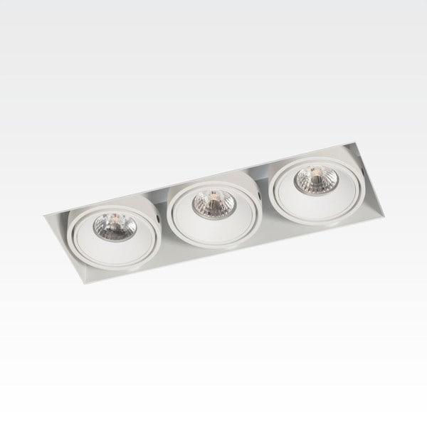 Orbit Piccolo No Frame 3x CONE COB LED OR 955161D824WW White / White