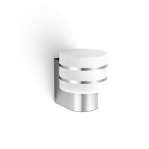 Philips Hue Tuar Outdoor Wall Light MA 1740447P0 Stainless steel