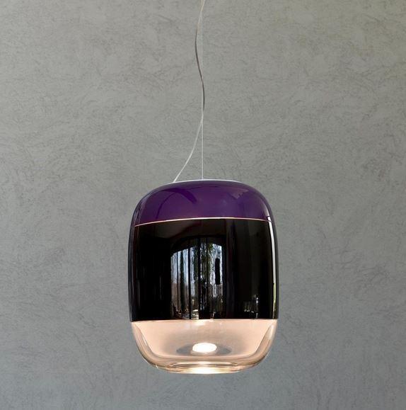 Prandina Gong S3 PR 1A63003913069 Eggplant / Black