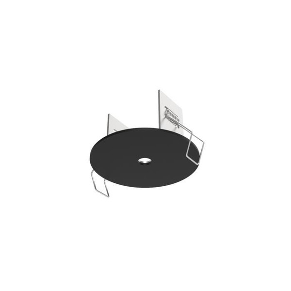 PSM Lighting Rosette round built-in rosette with end type M10 PS 81.10.11 Metallic grey