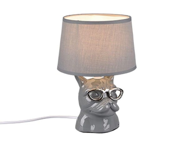Reality Dosy decorative table lamp with switch TR R50231011 Grey
