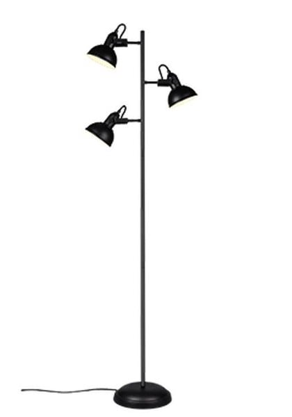 Reality Gina floor lamp with 3 spots TR R41153032 Matted black