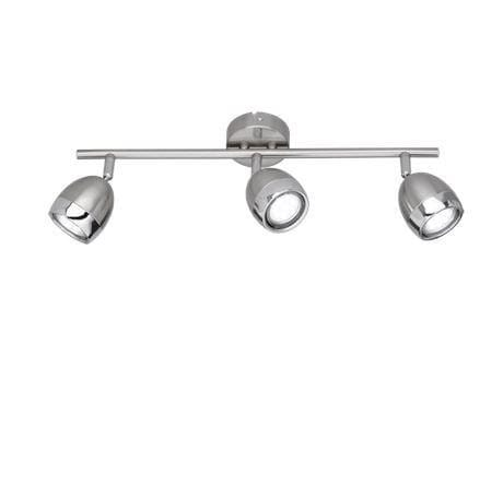 Reality Nantes ceiling light TR R82103107 Matted nickel
