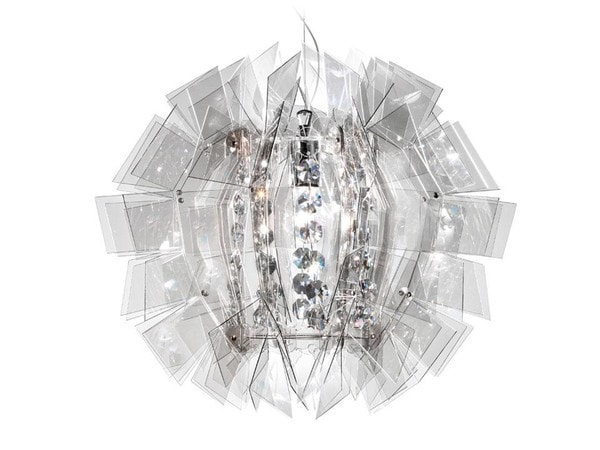 Slamp Crazy Diamond E27 100W SL CRZ77SOS0000FT Smoked