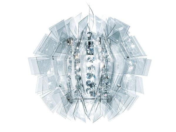Slamp Crazy Diamond E27 100W SL CRZ77SOS0000TT Transparent