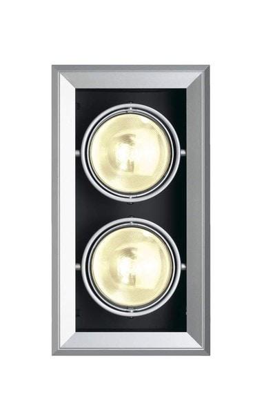 SLV Aixlight MOD 2 ES111 DM 154062 Silver grey / Black