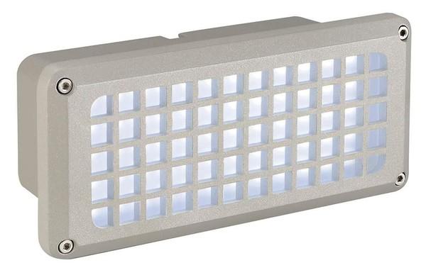 SLV Brick led 230V 8.5W DM 230481 Silver grey