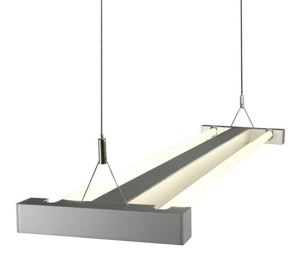 SLV I-Line horz. suspension DM 157012 Silver grey