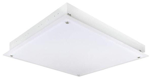 SLV Raster fitting big pan ceiling recessed DM 158221 White